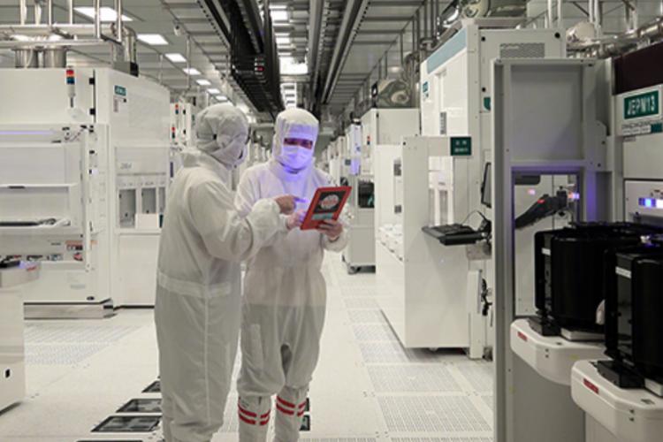 TSMC semiconductor fab